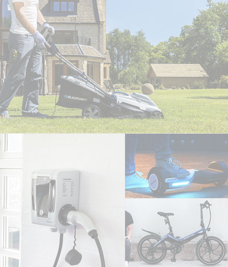 Blaupunkt Licensing E-Mobility, Lawn and Garden