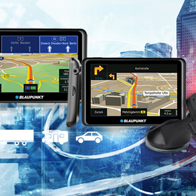 GPS Navigation portable navigations Blaupunkt licensing